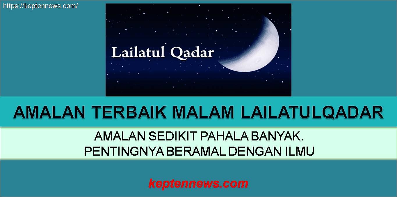 Doa Nabi SAW malam Lailatulqadar