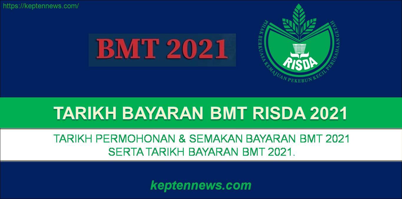 Tarikh Bayaran BMT RISDA:Bantuan Musim Tengkujuh 2021.