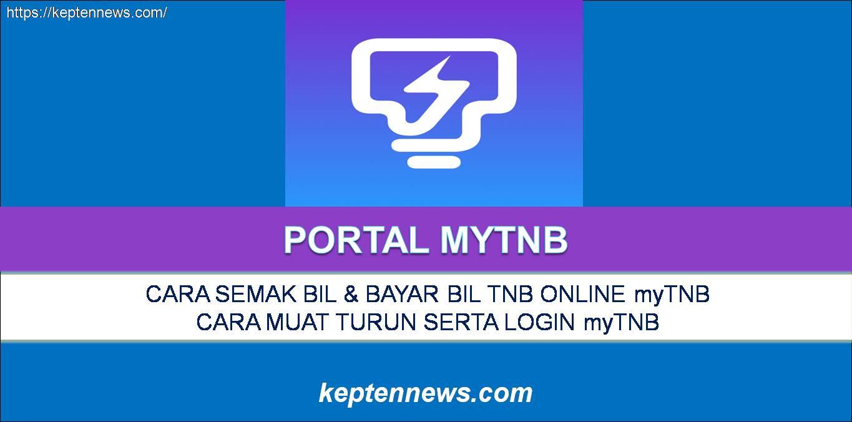 myTNB: Semak & Bayar Bil TNB Online Melalui myTNB