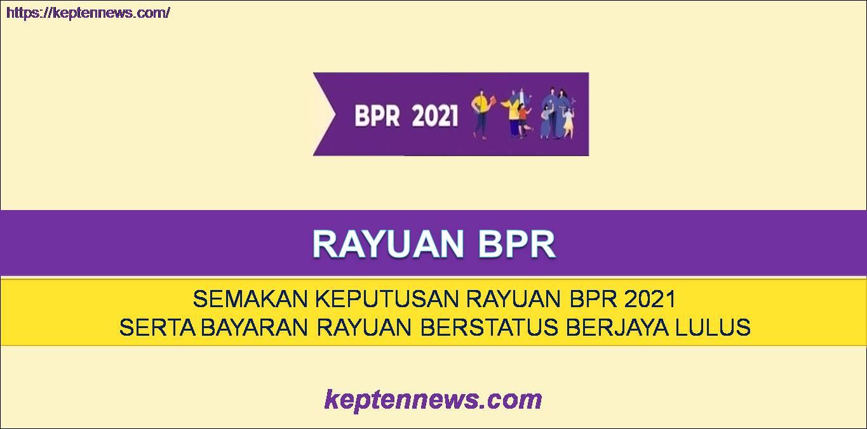 Rayuan BPR & Bayaran BPR Fasa 3: Semakan Keputusan Rayuan & Bayaran